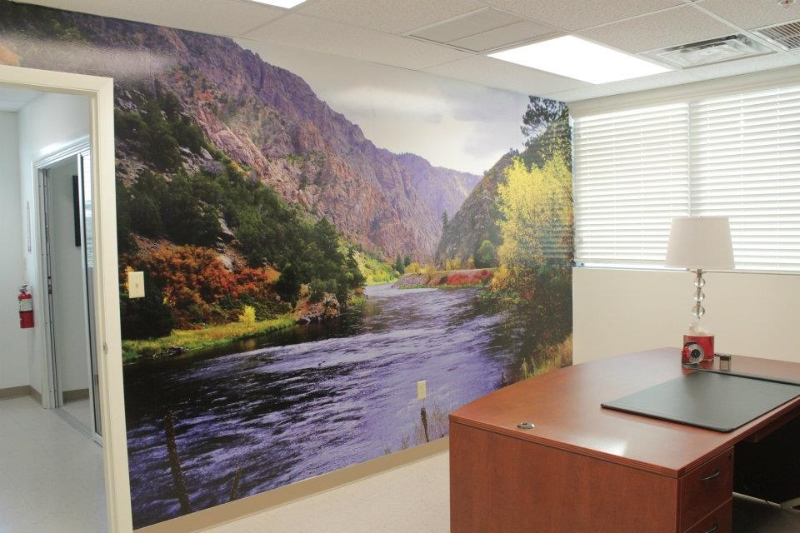 Stellar signs office wall mural quotes