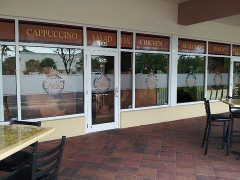 Restaurant Window Graphics West Palm Beach FL
