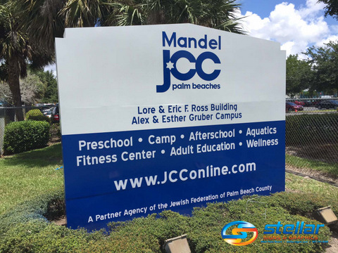 monument signs in West Palm Beach FL