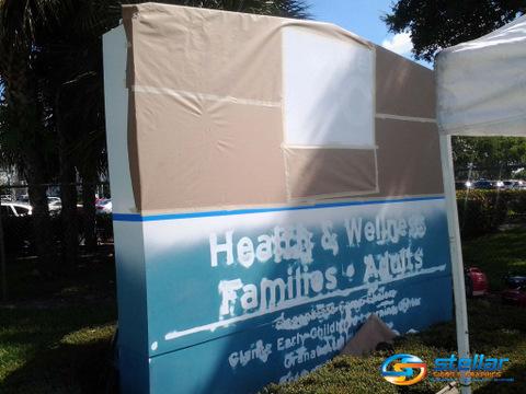 Sign Repairs Boynton Beach FL