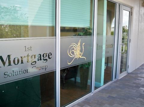 Window Graphics for Franchises Wellington FL