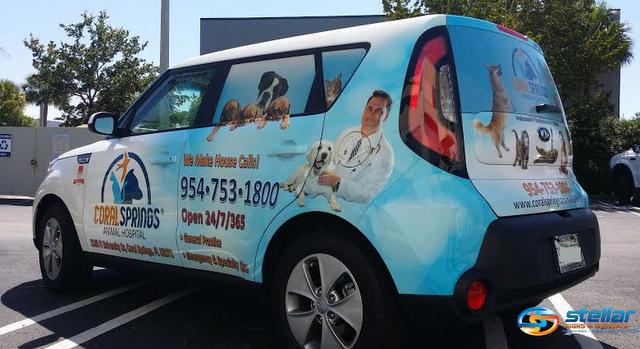Vehicle Wraps Coral Springs FL