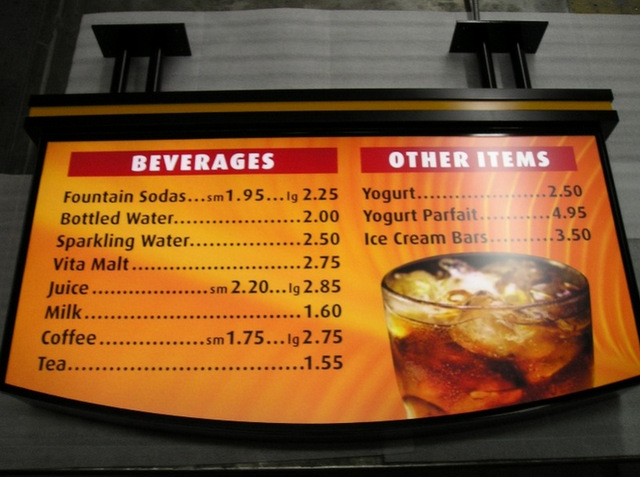 Restaurant Menu Boards In West Palm Beach Fl Stellar Signs