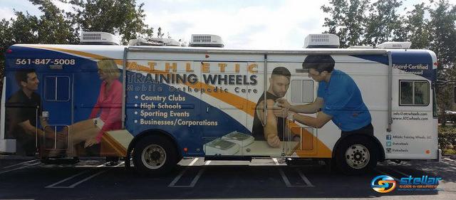 vehicle graphics in Wellington FL