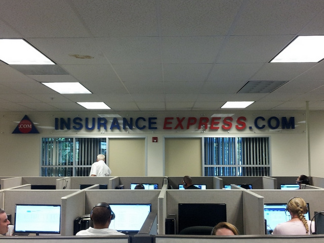 dimensional letter lobby signs for insurance companies, interior dimensional letters in West Palm Beach FL