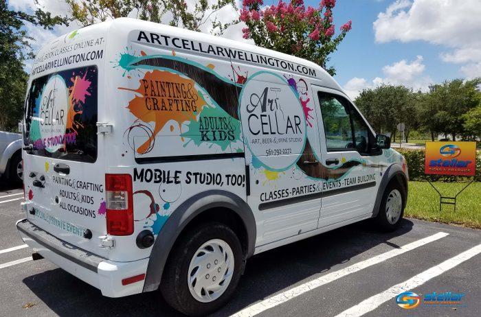 partial vehicle wraps in Wellington FL