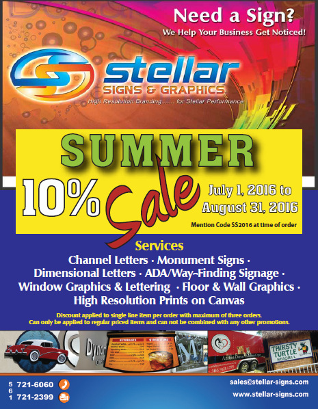 summer signage sales in West Palm Beach FL