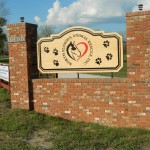 Completed NFAR Monument Signs